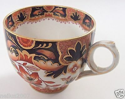 Antique Booths Gilded imari Rajah pattern Tea Cup Silicon China Made in England