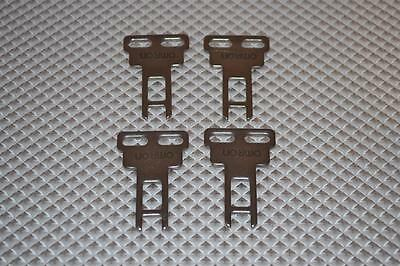 Lot Of 2 New Omron Safety Switch Keys  D4Ds-K1
