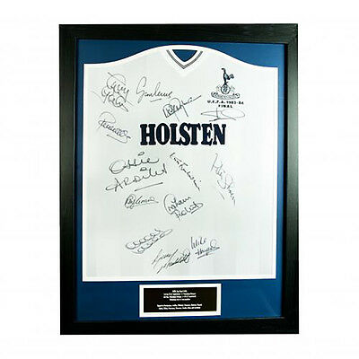 Tottenham Hotspur F.C - Framed Signed Shirt (1984 UEFA CUP FINAL)