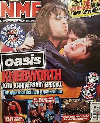 NME 5 August 2006 Oasis Knebworth Special