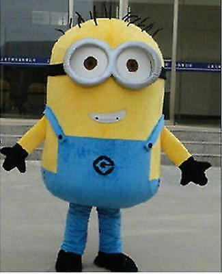 Adult mascot minions despicable me costume party fancy dress halloween cosplay