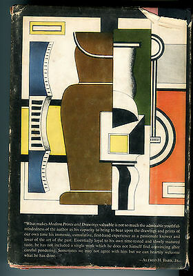 Vintage hardcover ART BOOK 1954 illustrated Modern Drawings first edition rare