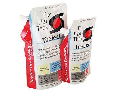 Tire Sealant Refill Pouch Permanent Tubeless Flat Puncture Repair/Fix 8 oz/20 oz