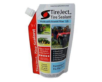 Tire Sealant 8oz Refill Pouch (Tubeless Flat Tyre Puncture Fix Repair)