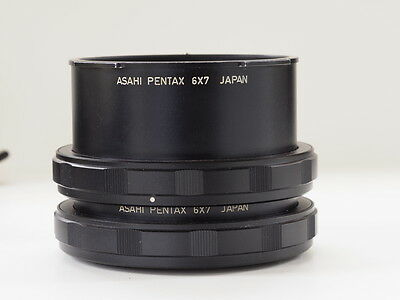 Pentax extension tube set #1 and #2, with case for Pentax 67, Pentax 6x7