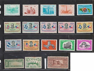 (U22-23) 1904-60 Panama mix of 61stamps value to 50c (A)
