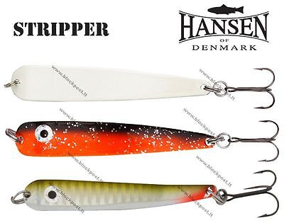 Hansen Stripper Spoon Fishing lures. Different colors / size