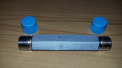"""Swagelok SS-6-HLN-4.00 , 3/8 Long hex nipple,4"""" long ,several availiable"""