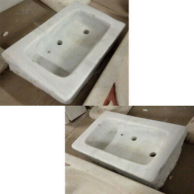 ANTICO LAVANDINO VASCA IN MARMO LAVELLO BAGNO -Ancient marble sink- mod. QC