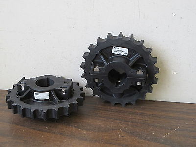 2 Rexnord Ns5700-21T 1-1/4Kw Table Top Chain Sprockets,new Old Stock