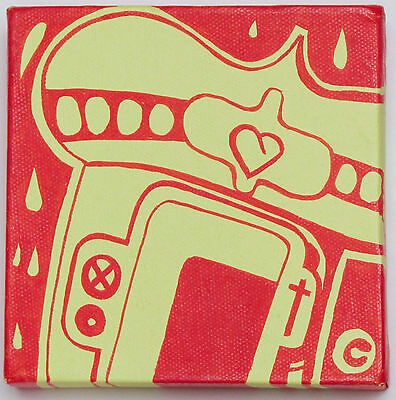 Sickboy - Original Temple Painting On Canvas - Not A Print - Graffiti & Banksy