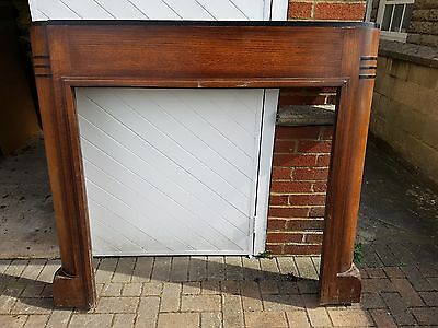 1930's / 1940's art deco fireplace surround / mantlepiece