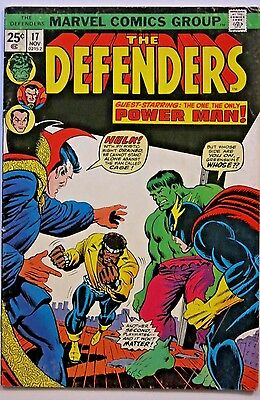Defenders #17 - 1st app. Wrecking Crew - Cents Issue - Marvel Comics