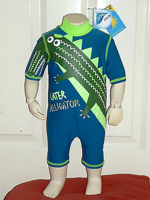 Baby Boys UV Sun Surf Suit UPF 40+ Sun Protective Swimming Costume 0-3 months