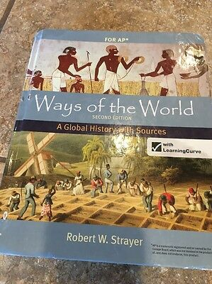 Ways of the World Second Edition - A Global History with Sources for AP - SAVE $