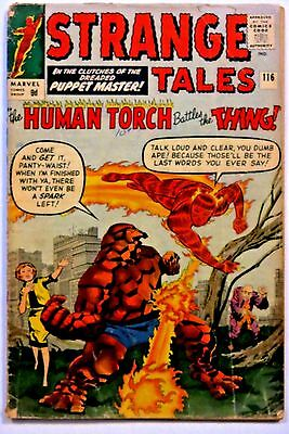 Strange Tales #116 - 1st Thing Crossover; 2nd app. of Nightmare - Marvel Comics