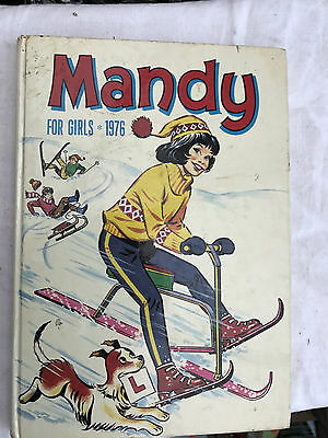 Mandy For Girls 1976 Annual Rare Vintage Comic Book Childrens