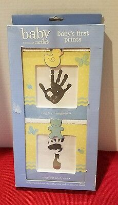 Carter's Baby's First Prints Kit My Handprint / My Footprint for Girl OR Boy NIB