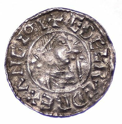 Aethelred Ii Penny Second Hand Type Bust Right Scarce  S.1146    *626