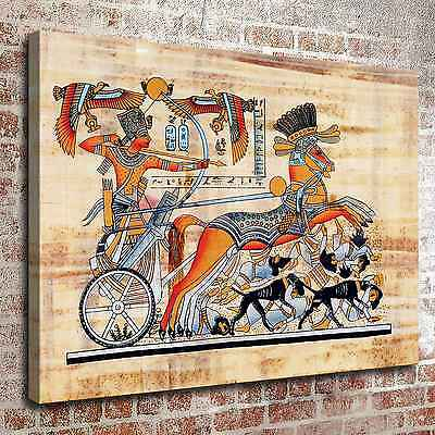 """12""""x16""""Egyptian pharaoh Paintings HD Print on Canva Home Decor Wall Art Pictures"""