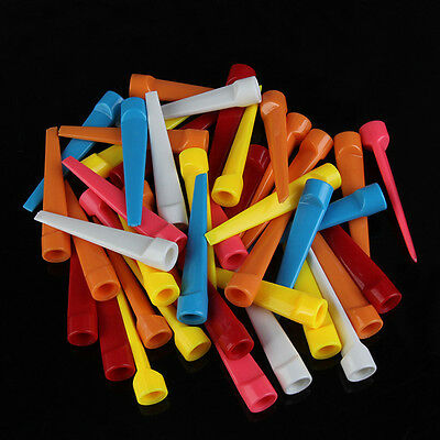 20pcs Step Down Golf Tees Graduated Height Control Golfer Accessories 2.8 inch