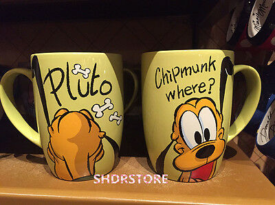 SHDR Pluto dog 1pc MUG CUP SHANGHAI DISNEYLAND DISNEY RESORT NEW