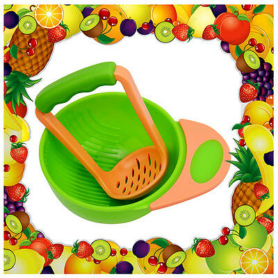 Baby Food Grinder Feeding Set Fruit Feeder Nursing Bowl Subsidiary Cook Feeder