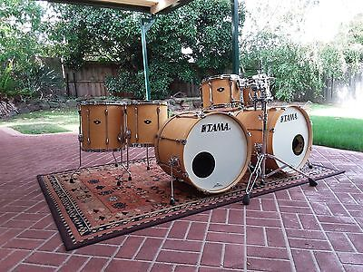 Tama Superstar Double Bass drum kit - Immaculate condition