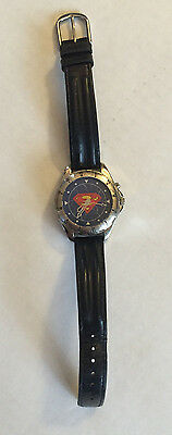Superman Leather Band Watch WBSS Fossil