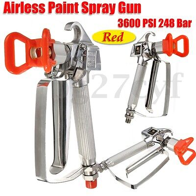 3600PSI 248 Bar High Pressure Airless Paint Spray Gun Guard Sprayer Tool Machine