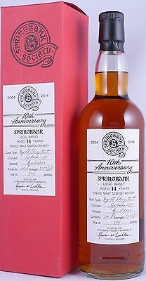 Springbank 1999 14 Years Local Barley Sherry Butt Scotch Whisky 10Th 57,8% RARE