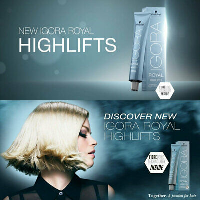 schwarzkopf igora royal true highlifts permanent hair color all shades 60 ml