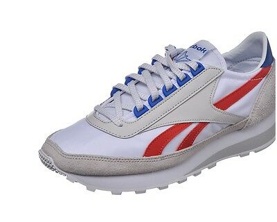 3fb0a744fb REEBOK AZTEC CLASSIC Men's Shoes Ar0620 Trainer Vintage Leather White  Running
