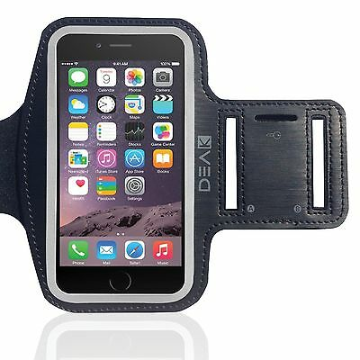 DEAK Running Jogging Sports Armband for Apple iPhone  6 & 6S / 5 & 5s  Gym