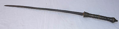 Antique lao sword from LAOS asian blade Asia Indochina