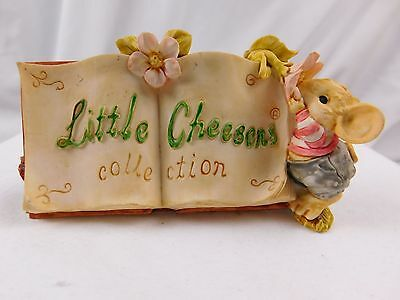 Little Cheesers Display Store Shelf Sign Signed Figure Mouse