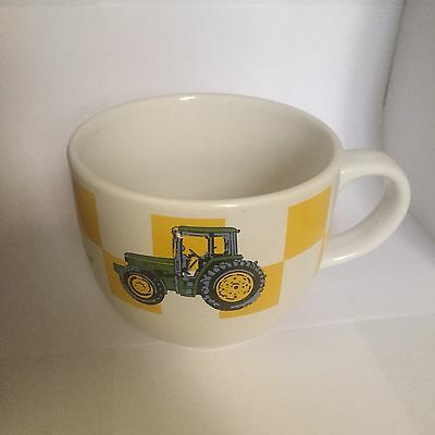 John Deere Logo Tractor Large Oversized Coffee Mug Soup Bowl  Tea Cup Gibson
