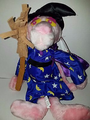 """1999 PINK PANTHER Merlin Plush Kellytoy Collectible Cartoon Character Toy 17"""""""
