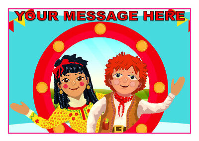 Rosie And Jim    Cake Topper  A4  Edible Iced/ Icing Personalised