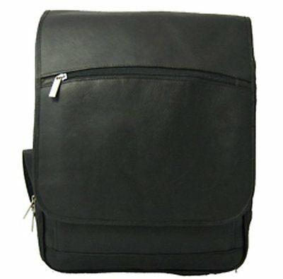 David King & Co. Large Computer Flapover Backpack, Black, One Size