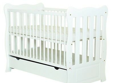 Baby Cot Bed/cot Beds/baby Cot With Drawer/junior Bed Tree Different Mattres