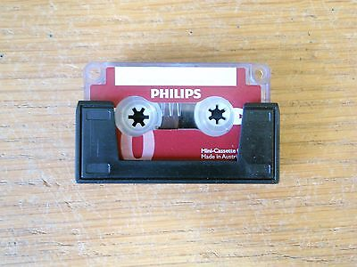 Philips LFH0005 Mini Cassette Tape high quality dictation tape new