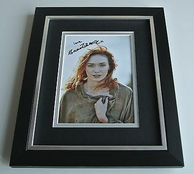 Eleanor Tomlinson SIGNED 10X8 FRAMED Photo Autograph Display Poldark TV & COA