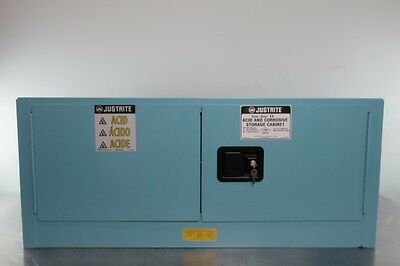 Justrite Acid Storage Cabinet 12 Gallon with Warranty