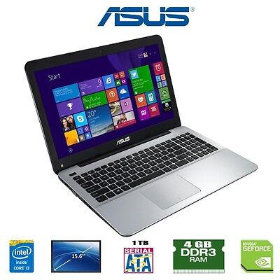 Asus X555LD-XO330H Intel Core i5-4210U 4 GB 1 TB Nvidia GeForce GT 820M 15.6' Us