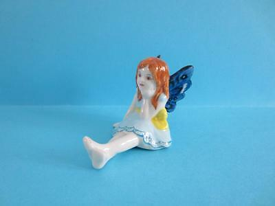 New 2017 Amazing Mythical Fairy Figurine With Butterfly Wings, So Cute *mint*