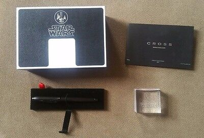 Cross Townsend Star Wars Limited Edition Darth Vader Rollerball/Ballpoint Pen