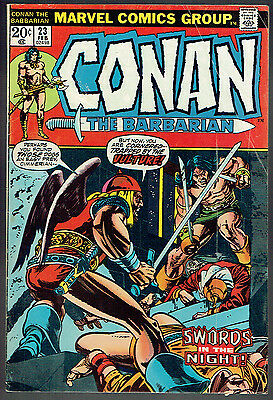 CONAN THE BARBARIAN  23  VG/4.0  -  1st appearance of Red Sonja!
