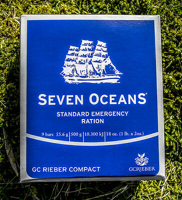 Seven Oceans (Notrationen) Emergency Food Ration - Survival Kit, 12kg (24x500g)