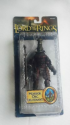 Lord Of The Rings: 'mordor Orc Lieutenant' - Rare Toybiz Figure - Factory Sealed